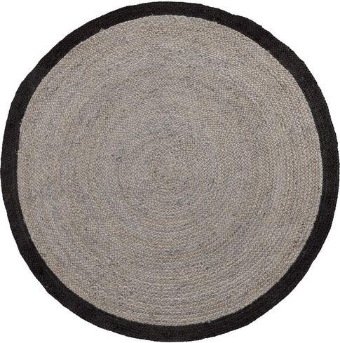 teppich rund 200 cm tisch stühle